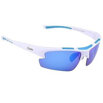 Gafas de Sol Deportivas, Carfia Gafas de Sol Deportivas Unisex Polarizadas con 100% Prtección