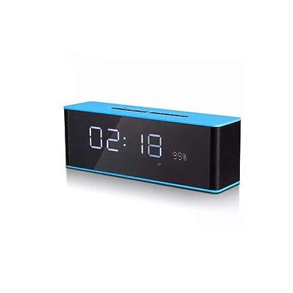Alarm clock Doble Despertador Inalámbrico Bluetooth con TF ...
