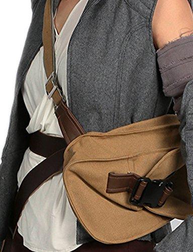 Xcoser Rey Bag Cosplay Costume Accessories with PU Belt Halloween