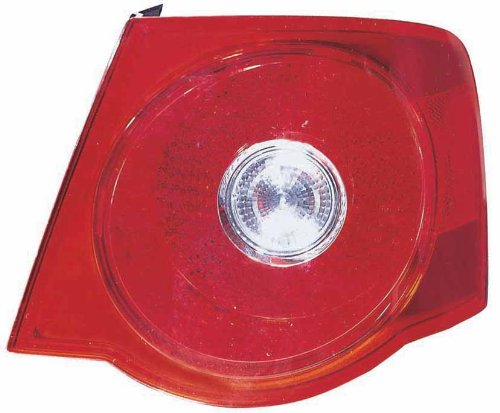 Depo 341-1923R-US6 Volkswagen Jetta Passenger Side Tail Lamp Assembly with Bulb and Socket