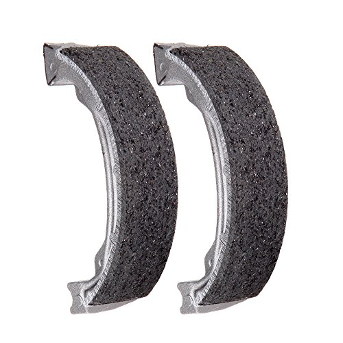 (SCITOO High Performance Brake Shoes Fit 97 98 99 00 01 02 03 04 05 06 07 08 09 11 Honda Recon 250)