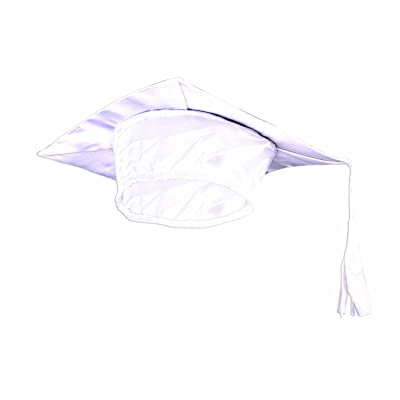 Forum Novelties 80095 Child Graduation Cap, White; One Size: Toys & Games
