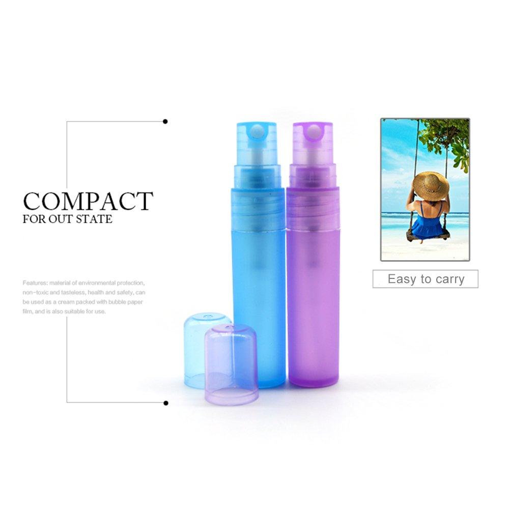 4aafa573ed61 Amazon.com: HOBOYER Plastic Spray Bottle for Perfume Cosmetic,4Pcs ...