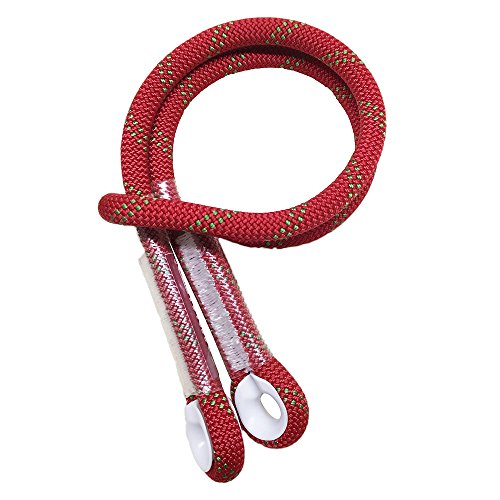Yougeyu Prusik Swen Cord 10.5mm (2/5'') Eye-to-Eye Pre-Sewn 40 inch for Rock Climbing by Yougeyu