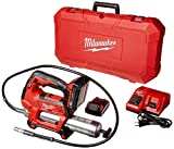 Milwaukee 2646-22CT M18 18-Volt Lithium-Ion Cordless 2-Speed Grease Gun 2-Battery Kit