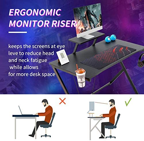Gome Gaming Computer Desk
