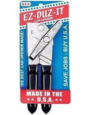 HIC Harold Import EZ-DUZ-IT 3028 Deluxe Can Opener with Grips, Black