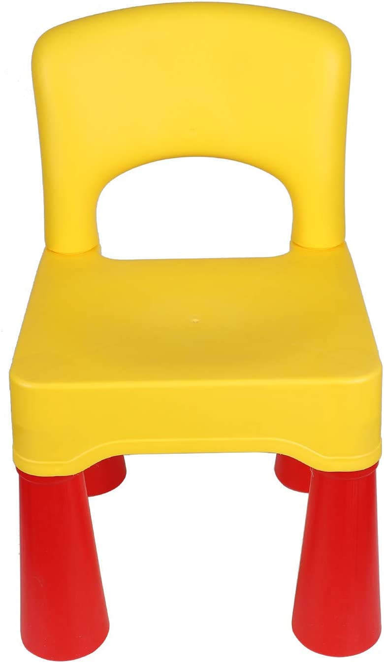 Plastic Toddler Chair, Durable and Lightweight, 9.65