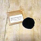 Black Cotton Velour Makeup Remover Pads - Set of 10