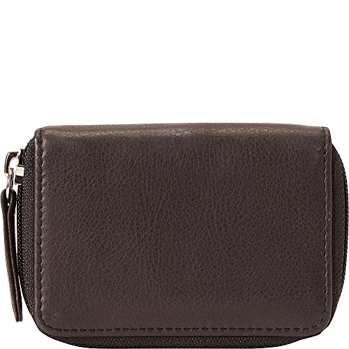 Osgoode Marley Eight Hook Zip Key Case with Valet (Black) ()