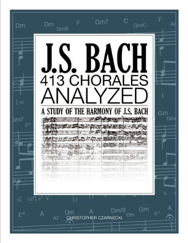 - J.S. Bach 413 Chorales: Analyzed