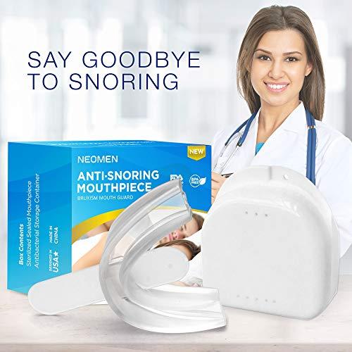 Neomen Night Mouthpiece Kit-Quiet Sleep Aid-Best Mouth Guard (a1)