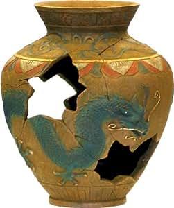Exotic environments oriental vase aquarium for Aquarium vase decoration
