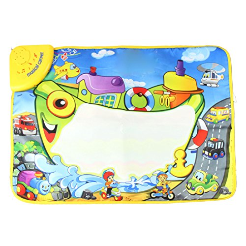 Voberr®New Arrival Baby Kid Game Toys Magic Water Touch baby music carpet /baby music mat /Baby Kid Child Piano Music
