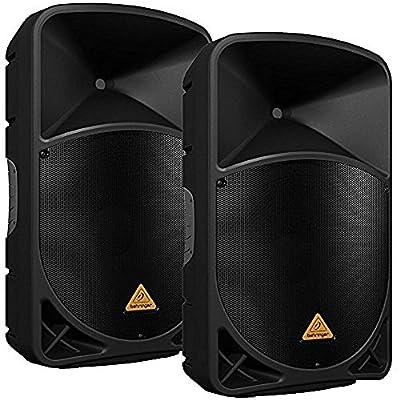 Behringer B115D 15 in Powered PA Speaker Pair by Behringer
