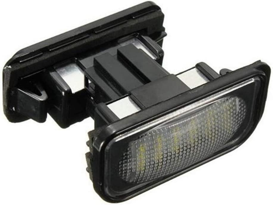 Boomboost 2 PCS pour Mercedes Benz GLK X204 24 SMD LED Plaque dimmatriculation sallume Ampoule 12V 6000k Blanc sans Erreur LED Plaque dimmatriculation Lampe