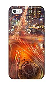 Top Quality Case Cover For Iphone 5/5s Case With Nice Seoul City Appearance