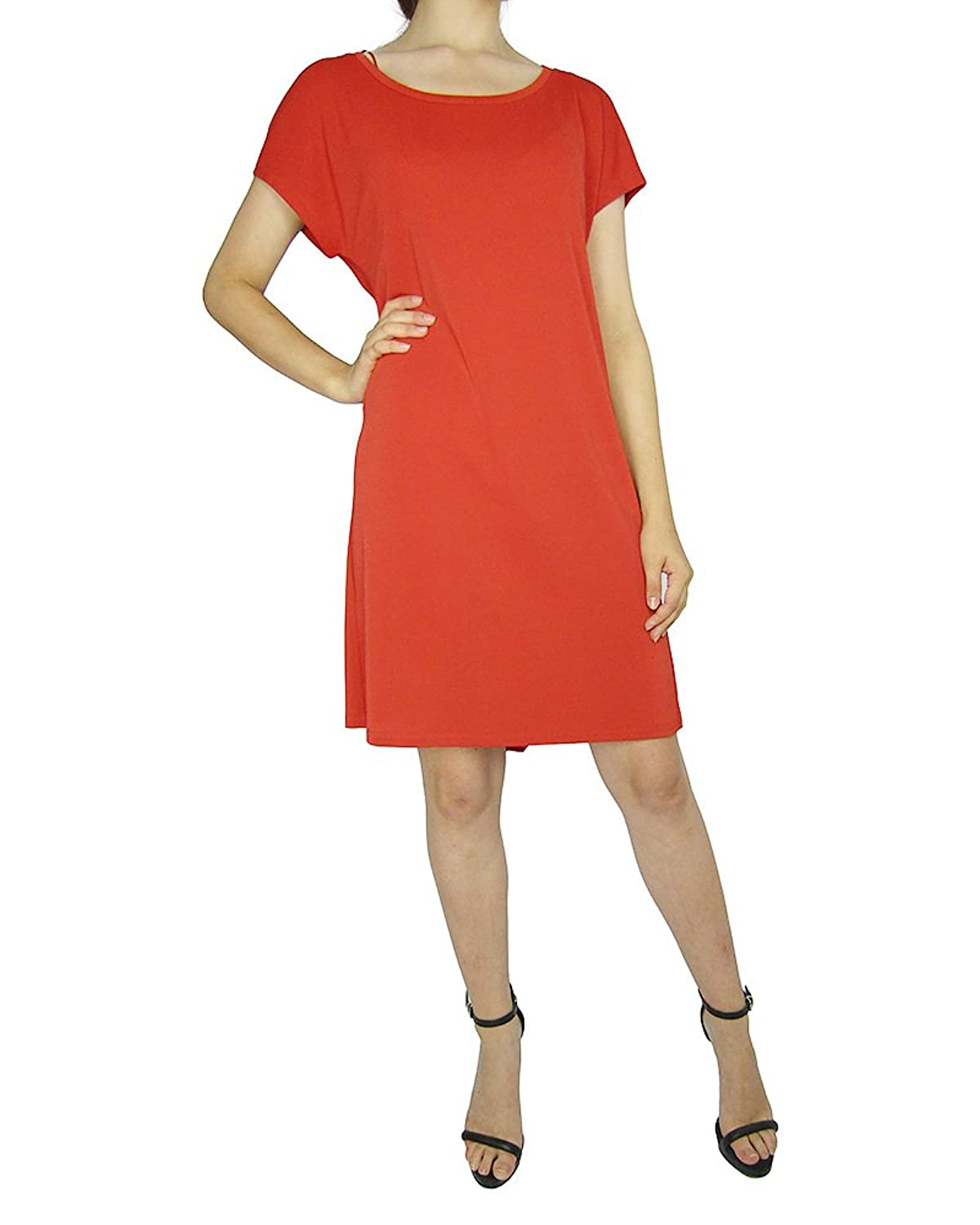 Alice By Temperley Dark Orange Fashionable Cotton Tunic use in all season UK8/US4 for Womens