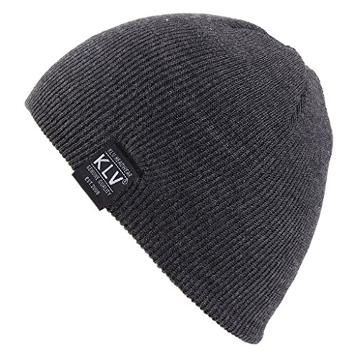 Mimgo Kids children Boys Winter Hat Knit Beanie Hat Ears Covers 2-9 Years Olds (Grey) ()