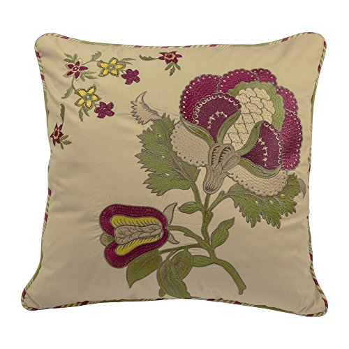 WAVERLY Imperial Dress Decorative Pillow, 20''x20'', Antique by WAVERLY