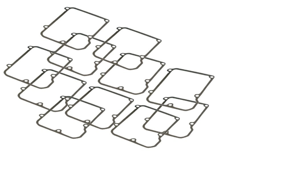 Orange Cycle Parts Transmission Top Cover Gaskets 10 Pack for Harley FLT, FXR 5-Speed 1986-1999 JGI-34904-86 by James Gasket