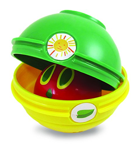 World of Eric Carle, The Very Hungry Caterpillar  Stacking and Nesting Chime Ball Toy ()