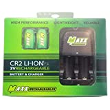 Golfing Buddies CR2 3V Li-Ion Battery and Charging Set