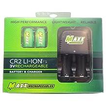 Golfing Buddies CR2 3V Li-Ion Battery and Charging Set