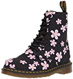 Dr. Martens Women's Page,black meadow flowers,5 M UK (7 US)