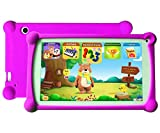 B.B.PAW Kids Tablet, Spanish&English Bilingual 1+8G Android 6.0 Tablet, Enhance/Train Kid's Abilities