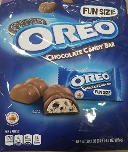 Oreo Chocolate Candy Bar Fun Size  30 2 Oz