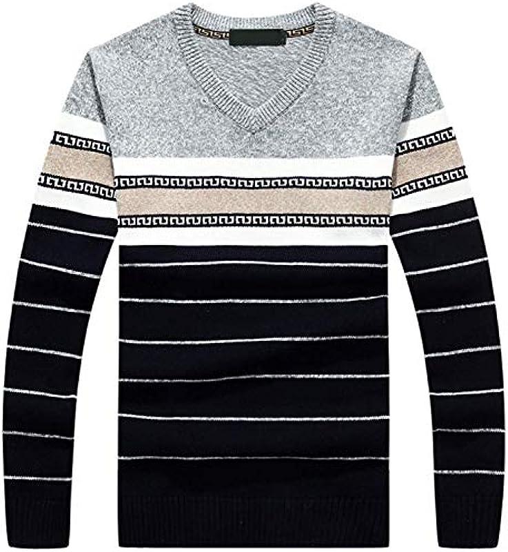 Sweter męski z długim rękawem V klasyczny dekolt delikatny jednokolorowy haft prosty styl z czystej bawełny bluza męska Nner: Odzież