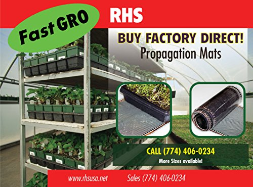 Fast-Gro Propagation Mats Original from Manufacturer Size 11'' x 48'' in. for reptiles and seedling mats by Fast-Gro