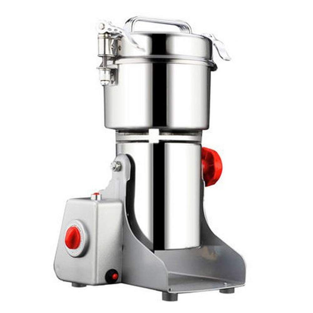 Walmeck Electric Grain Mill Grinder for Home Coffee Dry Food Mill Grinding Machines Crusher Grinder