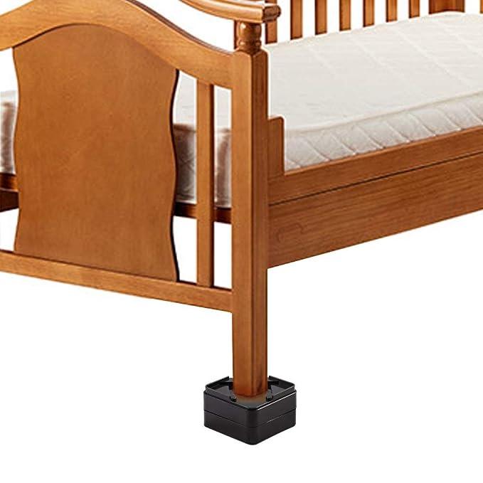 Elevador para muebles Patas para muebles color negro elevador de mesa patas de elefante 30 cm, para pies de hasta 10 x 10 cm SO-Tech M/öbelf/ü/ße elevador de cama altura aprox