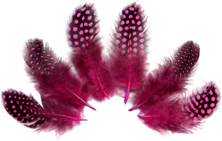 Natural Feather Earrings Polka Long Feather Earrings for Women 9-13 Inches