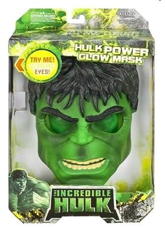 Hasbro - Máscara Hulk para niño (4 años)