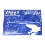 """Deli Wrap Interfolded Wax Paper/Dry Waxed Food Liner Junior Size, 10"""" x 8"""" 500 Sheets"""