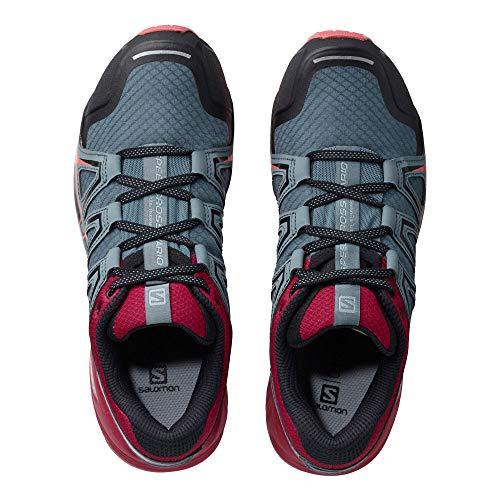 W Para Mujer Zapatillas 2 Asfalto Salomon Vario De Gris Running Speedcross qzZn04t