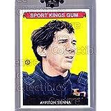 Ayrton Senna Hockey Card 2008 Sportkings #75 Ayrton Senna