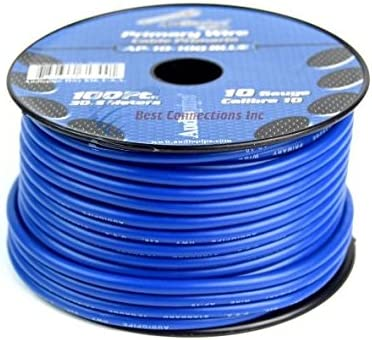 [SCHEMATICS_48IS]  Amazon.com: 10 GA gauge 100 feet Blue Audiopipe Car Audio Home Primary  Remote Wire: Car Electronics | Car Audio Wiring Blue Wires |  | Amazon.com