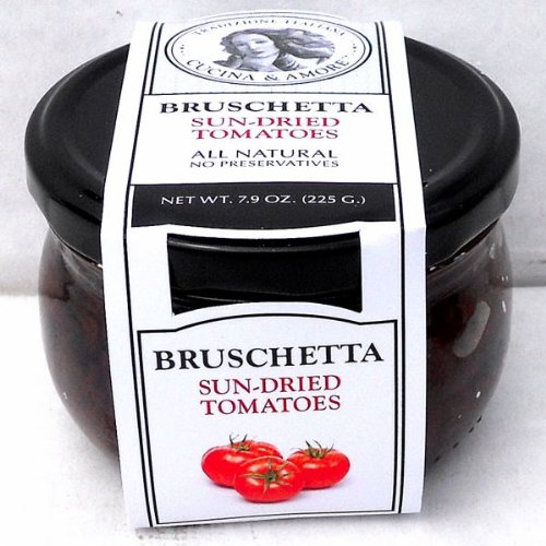 (Cucina & Amore (12 pack) Sundried Tomato Bruschetta Topping 7.9oz)