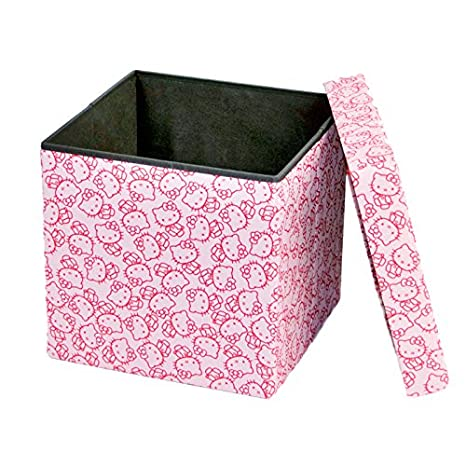 Fabulous Dar Living Storage Ottoman 15X15 Hello Kitty Ncnpc Chair Design For Home Ncnpcorg