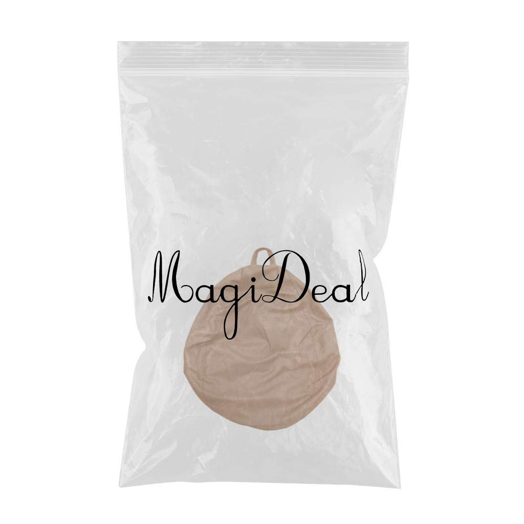 60x75cm Arancia MagiDeal Copertura per Poltrona a Sacco Fodere da Divano Bean Bag in Lino Home Decor