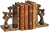 Kensington Hill Bird on Branch Bronze Bookends Set