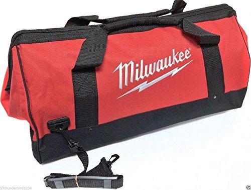Milwaukee Bag 23x12x12nch Heavy Duty Canvas Tool Bag 6 Pocket (Basic)