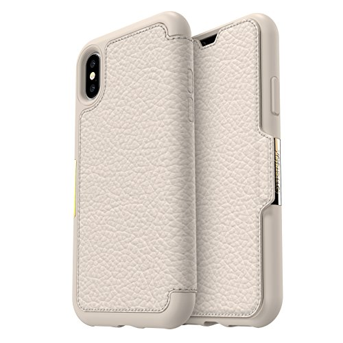 OtterBox STRADA SERIES Case for iPhone Xs & iPhone X - Retail Packaging - SOFT OPAL (PALE BEIGE/PALE BEIGE ()