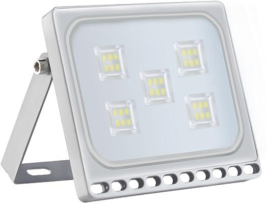 Foco proyector LED 30W para exteriores, resistente al agua IP65 ...