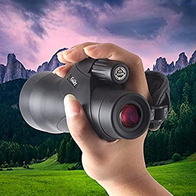 Gosky 12x50 ED Glass Monocular- Ultra HD Multi-Coated Waterproof Monocular Telescope-BAK4 Prism for Wildlife Bird Watching Hunting Camping Travelling Wildlife Secenery by Gosky