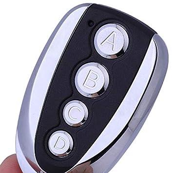 Alarmfernbedienung Drahtloser 4-Kanal-Sender mit Metallgeh/äuse Zubeh/ör 10M-50m Reichweite Fernbedienung Handsender 4 Tasten Ev1527 Fernbedienung